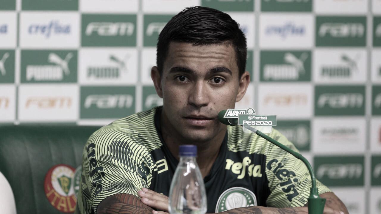 """Emocionado, Dudu se despede do Palmeiras: """"Foi tudo para mim"""""""