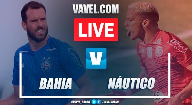 Gols e melhores momentos Bahia 4 x 1 Náutico pela Copa do Nordeste