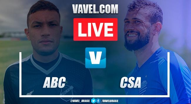 Gols e melhores momentos de ABC x CSA na Copa do Nordeste (0-2)