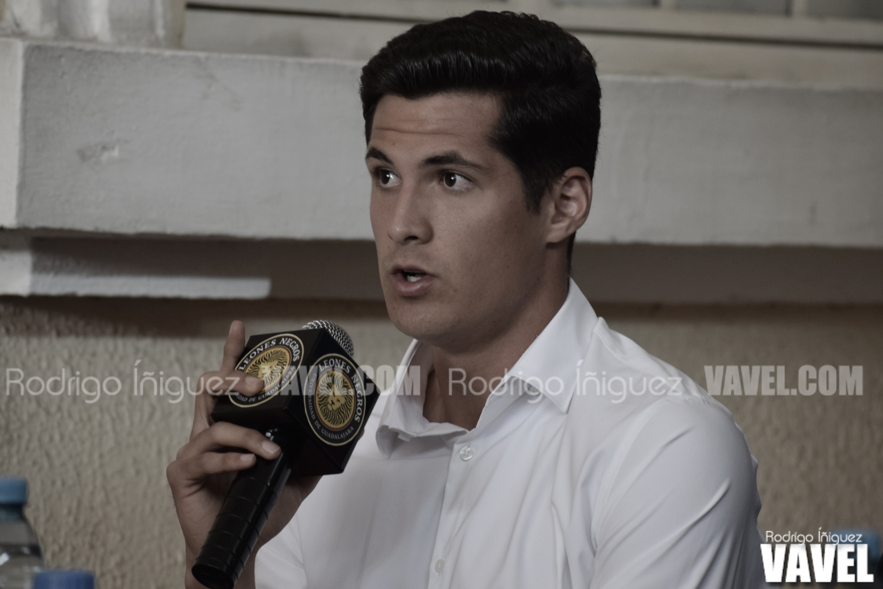 """José """"Tepa"""" Gozález busca ser referente en Leones Negros"""