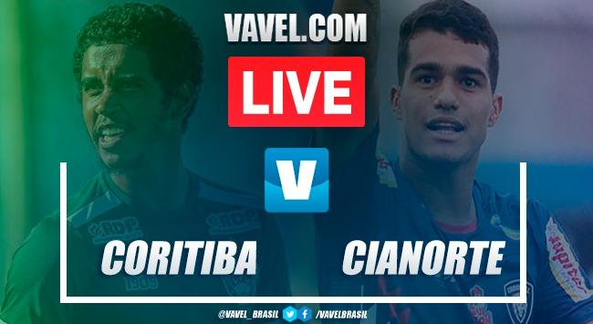 Gols e melhores momentos de Coritiba 2-0 Cianorte pela semifinal do Campeonato Paranaense