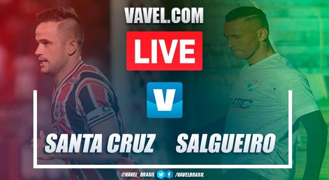 Gols e melhores momentos de Santa Cruz x Salgueiro (3)0-0(4)
