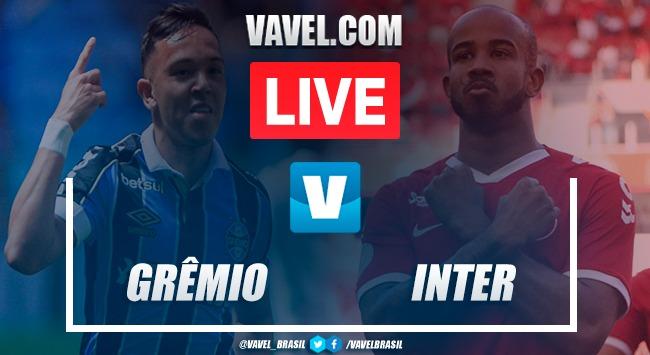 Gols e melhores momentos de Grêmio 2 x 0 Inter pelo Campeonato Gaúcho