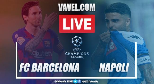 FC Barcelona vs. Napoli EN VIVO online en Champions League (3-1)
