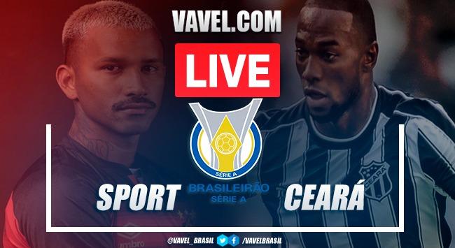 Gols e melhores momentos de Sport x Ceará no Brasileirão (3-2)