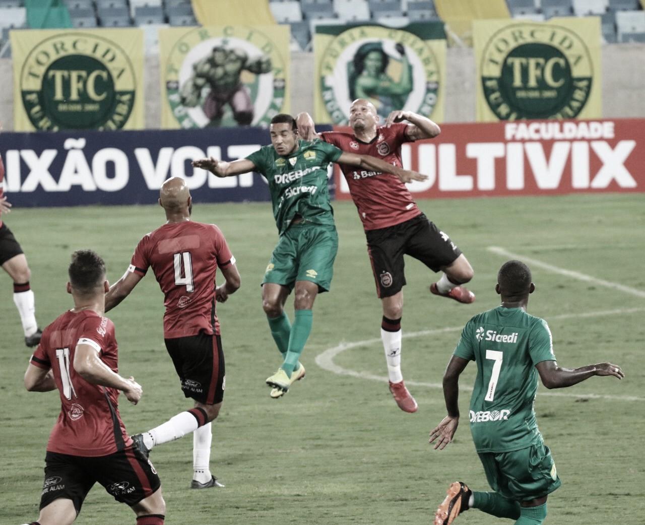 Cuiabá e Brasil de Pelotas inauguram Série B 2020 com empate