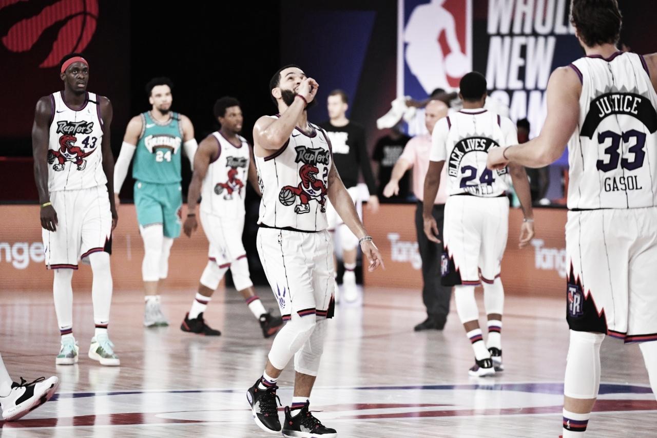 Toronto Raptors derrota Memphis Grezzlies e garate segunda colocação na Conferência Leste