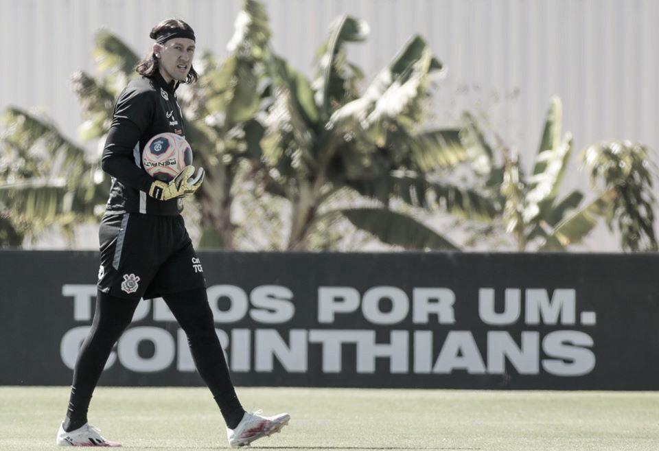 """Cássio lamenta derrota, mas destaca qualidade do Atlético-MG: """"Equipe bem treinada"""""""
