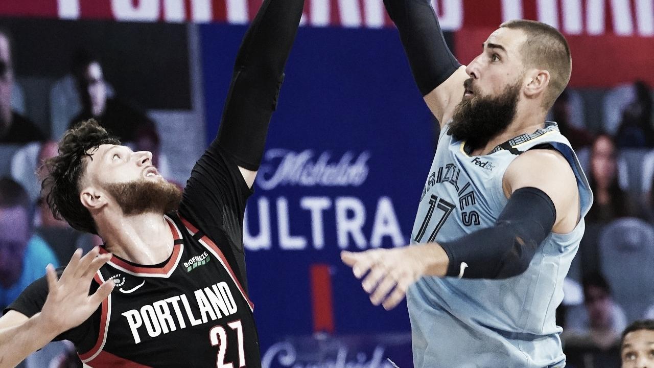 Em partida eletrizante, Blazers batem Grizzlies e garantem vaga nos playoffs; veja confrontos