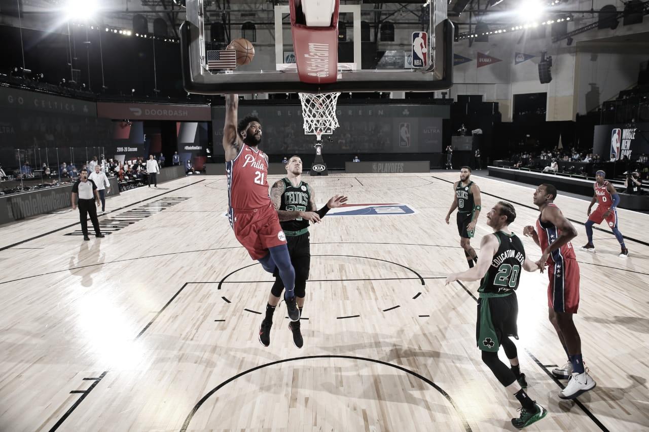 Celtics vence em confronto acirrado com show de Tatum e abre vantagem contra 76ers