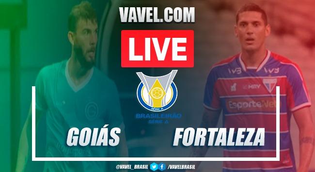 Gols e melhores momentos de Goiás x Fortaleza no Brasileirão (1-3)