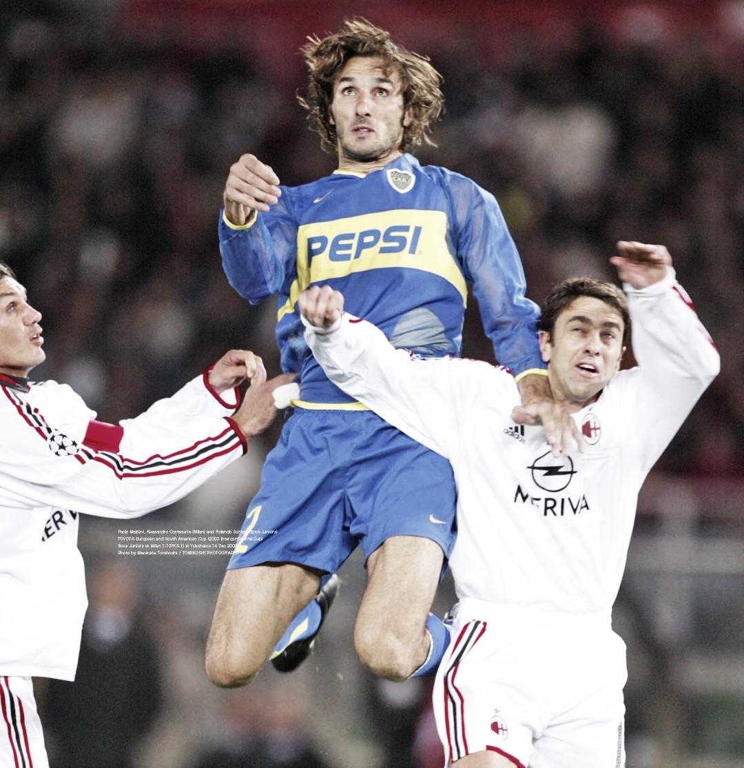 A 19 años del debut Schiavi en Boca