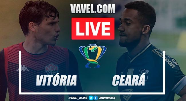 Gols e melhores momentos de Vitória 3 x 4 Ceará pela Copa do Brasil 2020
