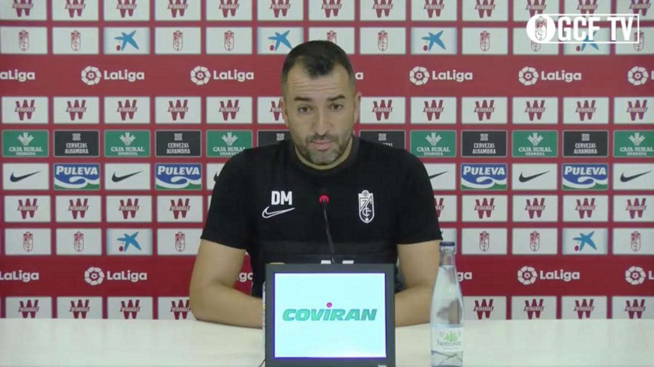"""Diego Martínez: """"El objetivo es la permanencia"""""""