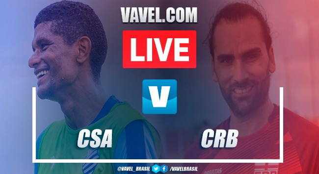 Gols e melhores momentos de CSA x CRB na Série B do Brasileirão (0-2)