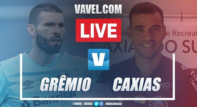 Gols e melhores momentos de Grêmio x Caxias no Gauchão (1-2)