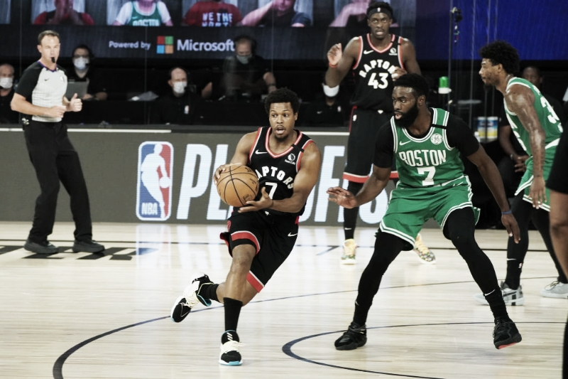 Toronto derrota Boston no estouro do cronômetro e ganha sobrevida