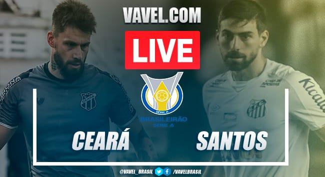 Gol e melhores momentos de Ceará x Santos no Brasileirão (0-1)