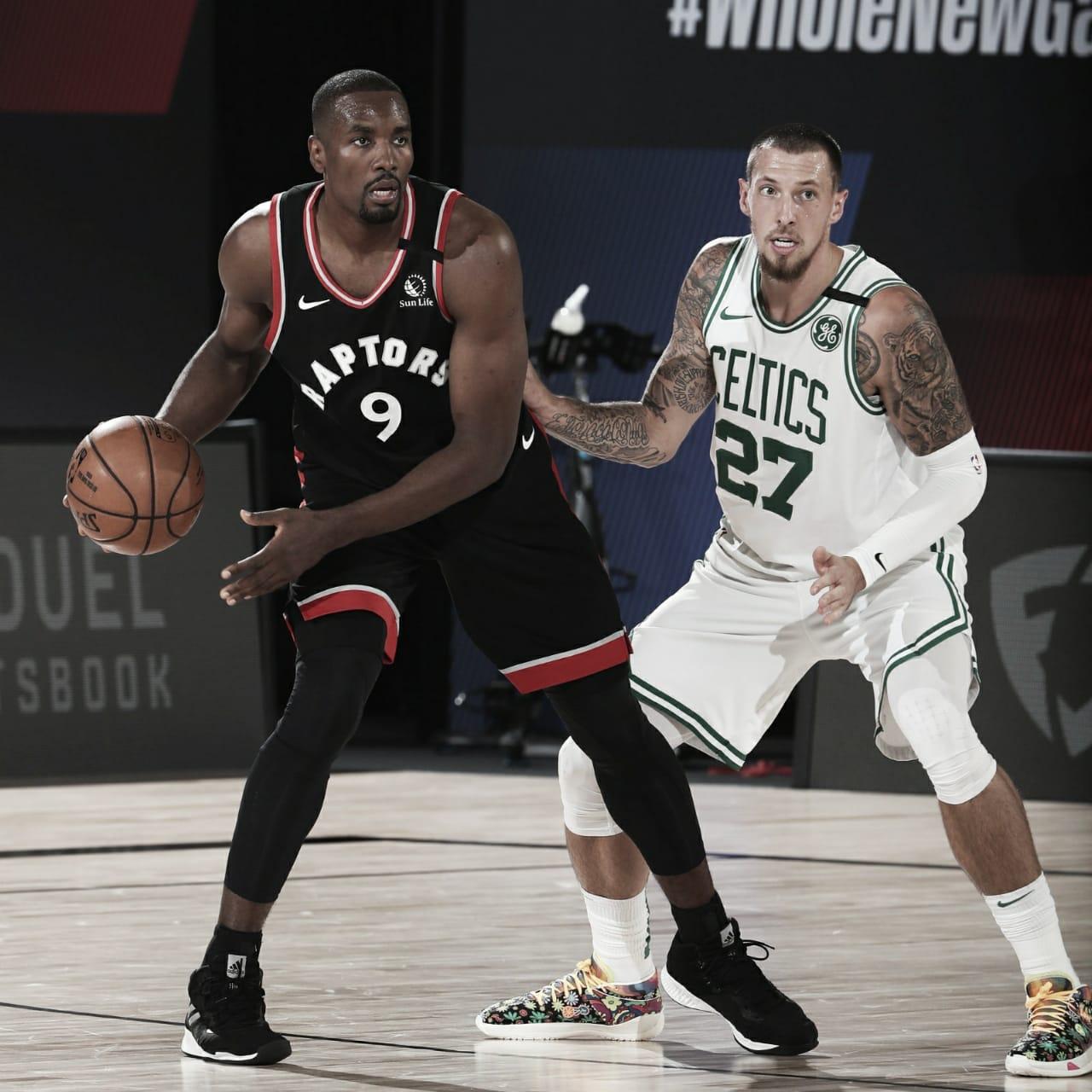 Toronto Raptors tem atuação dominante sobre Boston Celtics e empatam semifinal da Conferência Leste