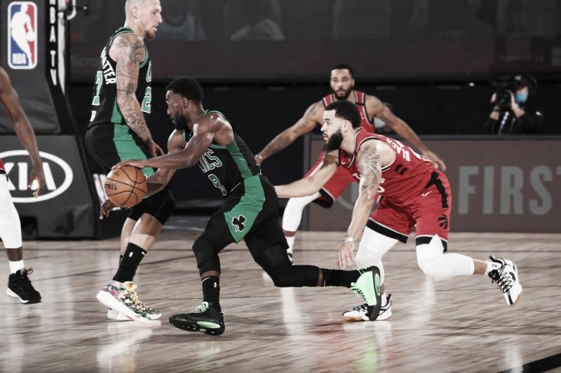 Boston Celtics domina Toronto Raptors e volta a ter vantagem nas semifinais do Leste