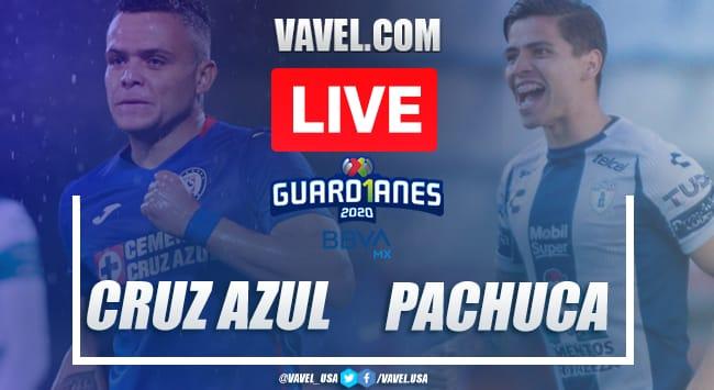 Goals and summary: Cruz Azul 1-0 Pachuca in League MX