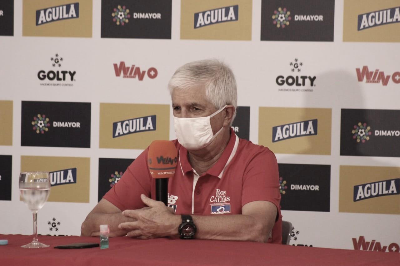 """Julio Comesaña: """"El equipo jugó, luchó, estuvo atento y ganamos ante un muy buen rival"""""""