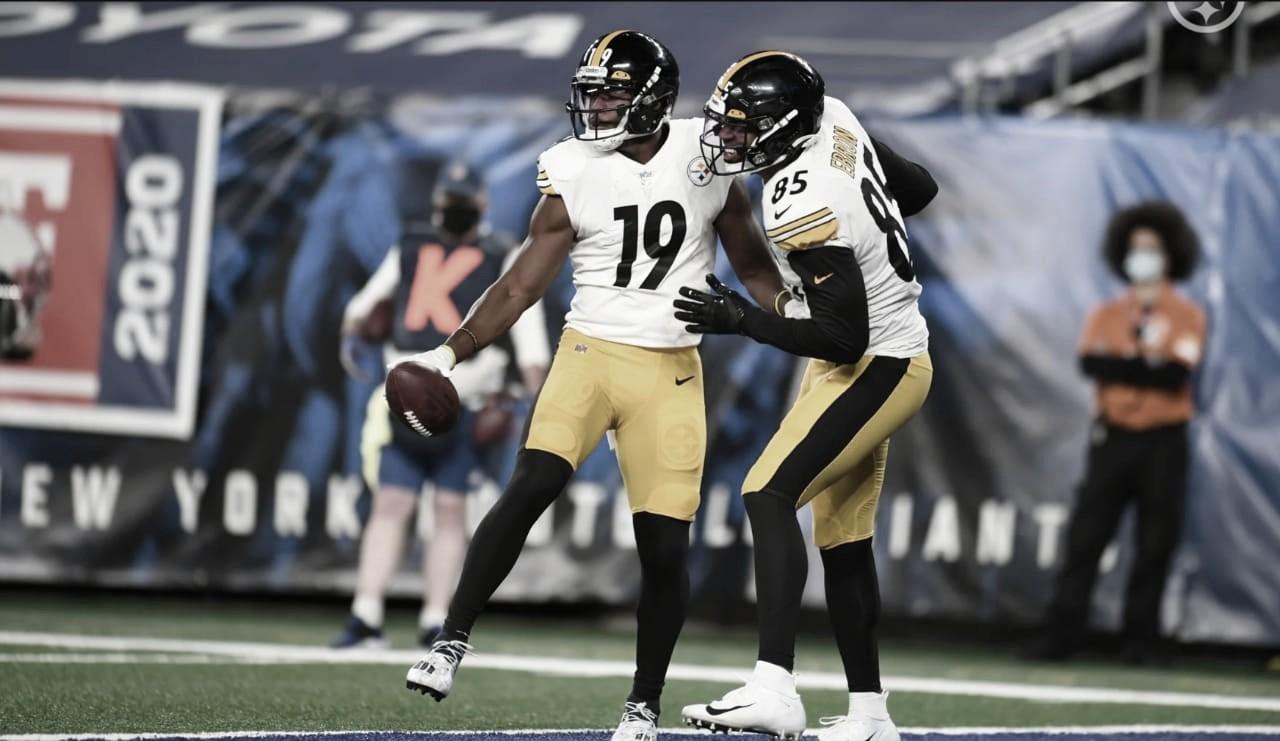 No retorno de Big Ben, Pittsburgh Steelers estreia com vitória sobre Giants
