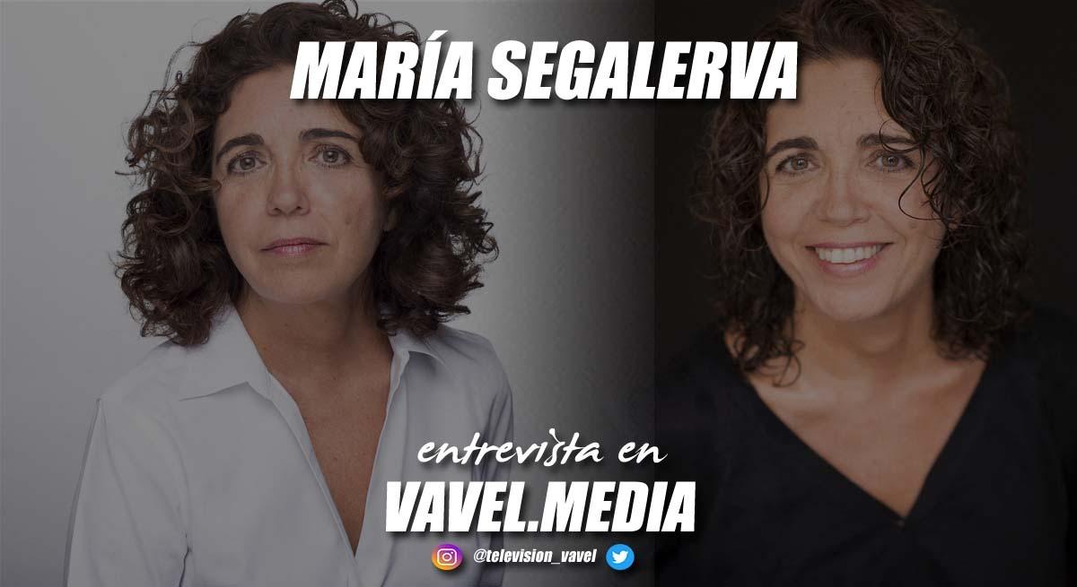 """Entrevista. María Segalerva: """"Al subir al escenariohay un poder que te sale de dentro y te permite hacer con el personaje lo que quieras"""""""