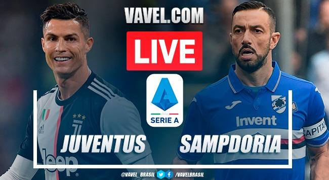 Gols e melhores momentos de Juventus 3 x 0 Sampdoria pelo Campeonato Italiano 2020