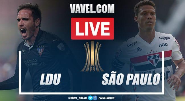 Gols e melhores momentos de LDU 4 x 2 São Paulo pela Copa Libertadores 2020