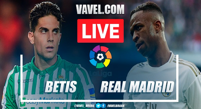 Betis x Real Madrid AO VIVO (0-1)