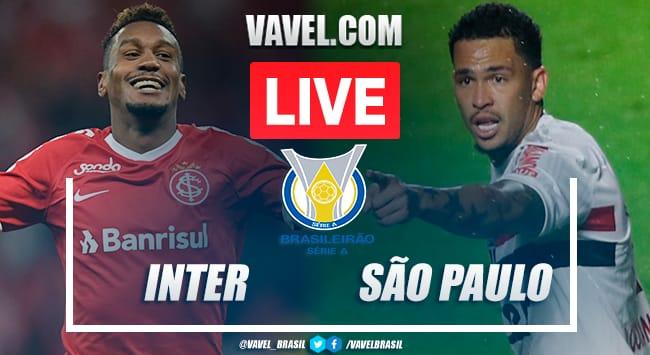 Inter x São Paulo AO VIVO: jogo em tempo real pelo Brasileirão 2020