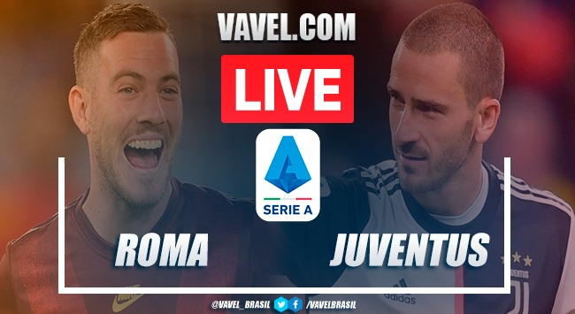 Roma x Juventus AO VIVO: jogo em tempo real pelo Campeonato Italiano