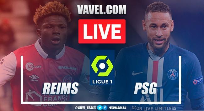 Gols e melhores momentos de Reims 0 x 2 PSG pelo Campeonato Francês 2020