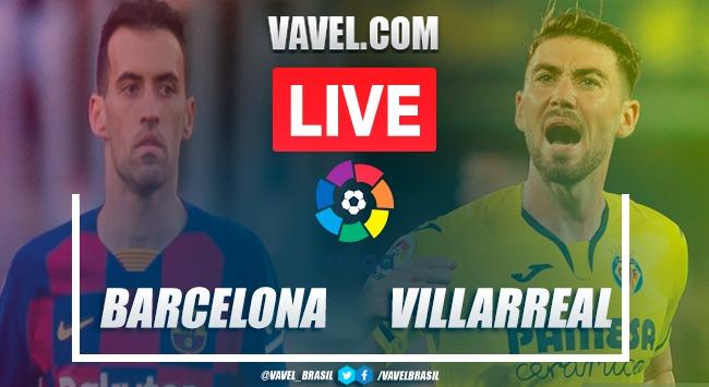 Gols e melhores momentos Barcelona 4x0 Villarreal pelo Campeonato Espanhol 2020-21