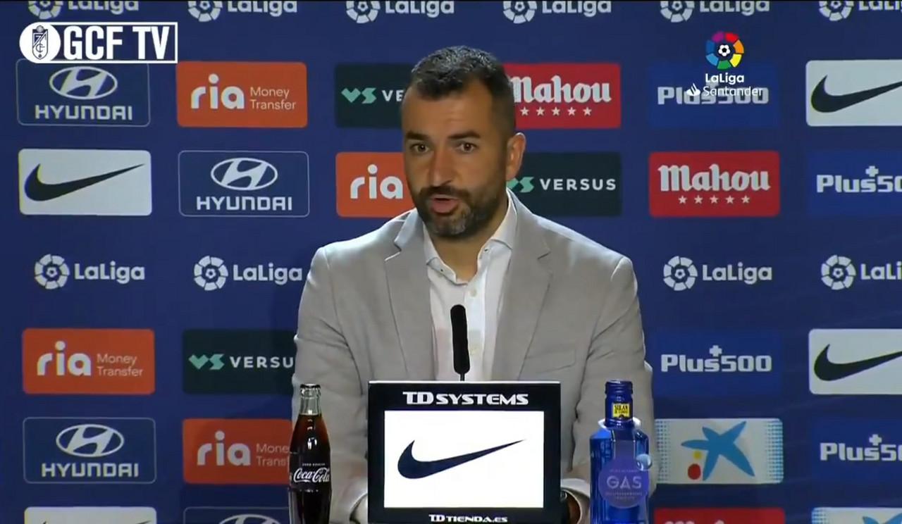 """Diego Martínez: """"Hemos empezado mal las dos partes"""""""