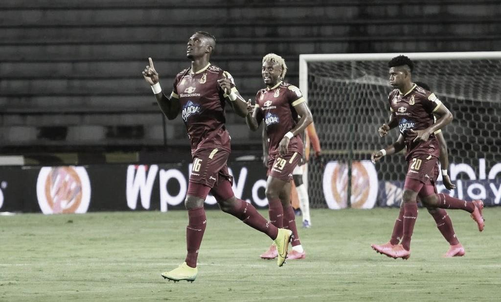 Sin jugar bonito, Tolima recuperó el liderato de la Liga BetPlay