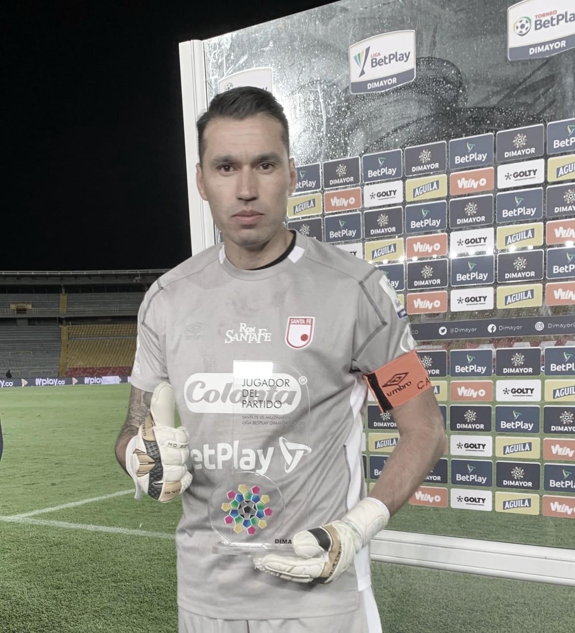 Leandro Castellanos, la figura en un partido deslucido