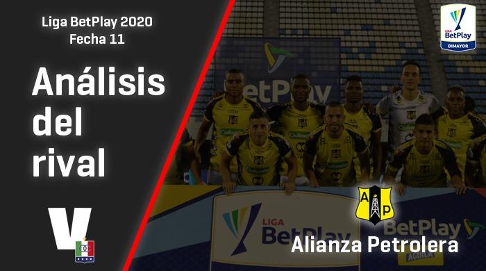 Once Caldas, análisis del rival: Alianza Petrolera (Fecha 11, Liga 2020)