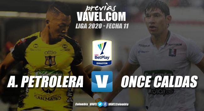 Previa Alianza Petrolera vs Once Caldas: a afianzarse dentro de los ocho mejores de Colombia