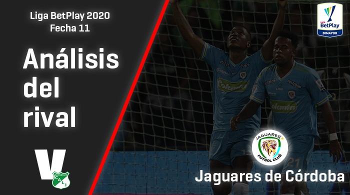 Deportivo Cali, análisis del rival: Jaguares de Córdoba (Fecha 11, Liga 2020)