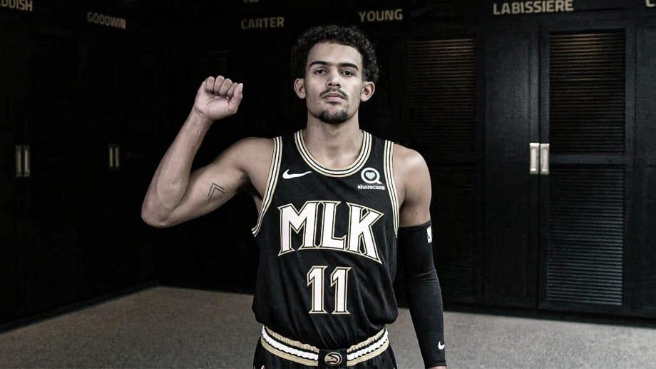 Atlanta Hawks lança uniforme em homenagem a Martin Luther King Jr
