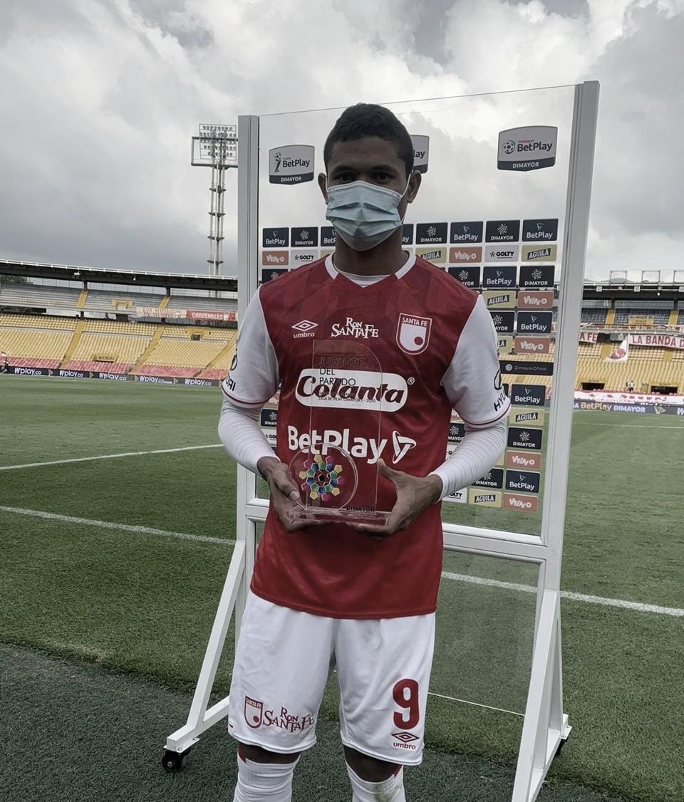 Jorge Luis Ramos, la figura del juego ante Alianza Petrolera