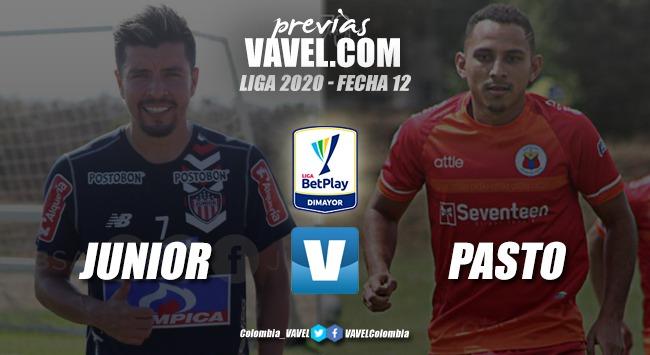 Previa Junior de Barranquilla vs Deportivo Pasto:   duelo para mantenerse en los ocho