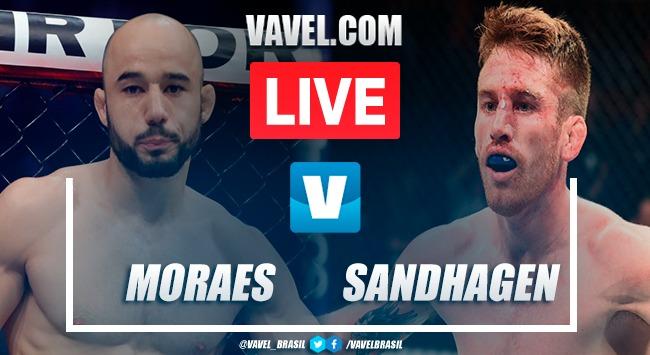 Resultados e Melhores momentos: Moraes vs Sandhagen noUFC Ilha da Luta 5