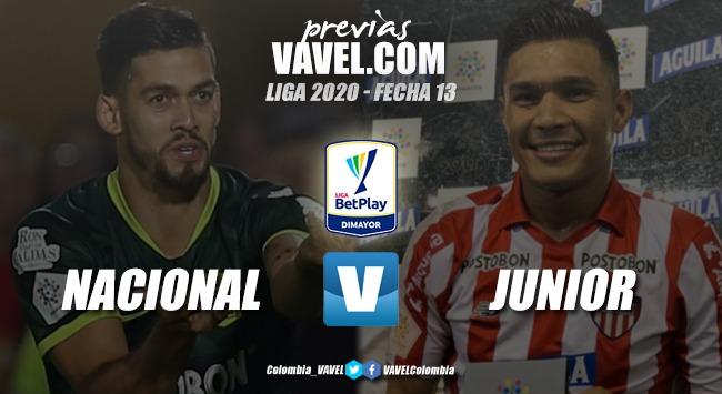 Previa Atlético Nacional vs Junior de Barranquilla: las dos mejores nóminas del país se enfrentan en el Atanasio