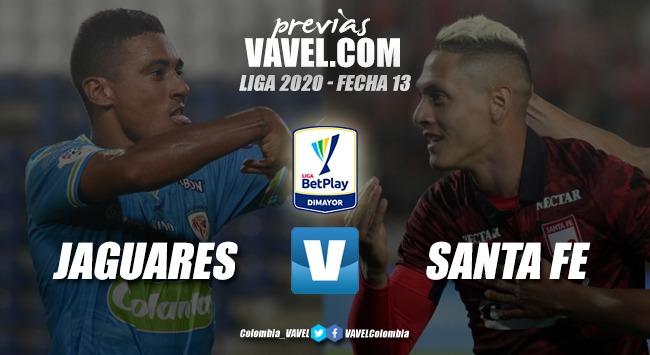 Previa Jaguares vs. Independiente Santa Fe: duelo de 'felinos' en Montería