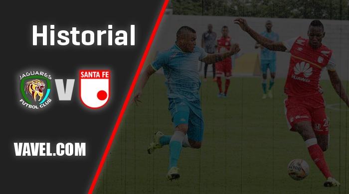 Historial Jaguares vs. Santa Fe: predomina el empate
