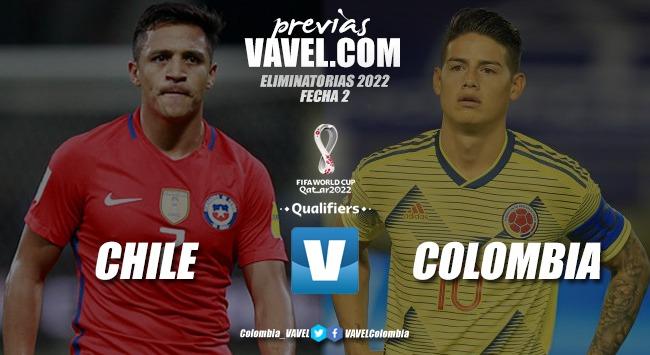 Previa Chile vs. Colombia: realidades distintas por la segunda fecha