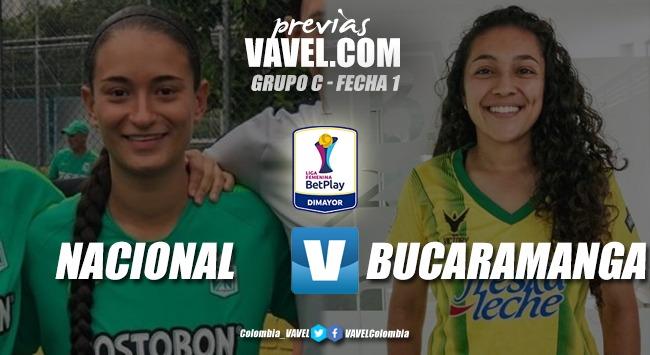 Atlético Nacional vs. Atlético Bucaramanga: por un debut con broche de oro